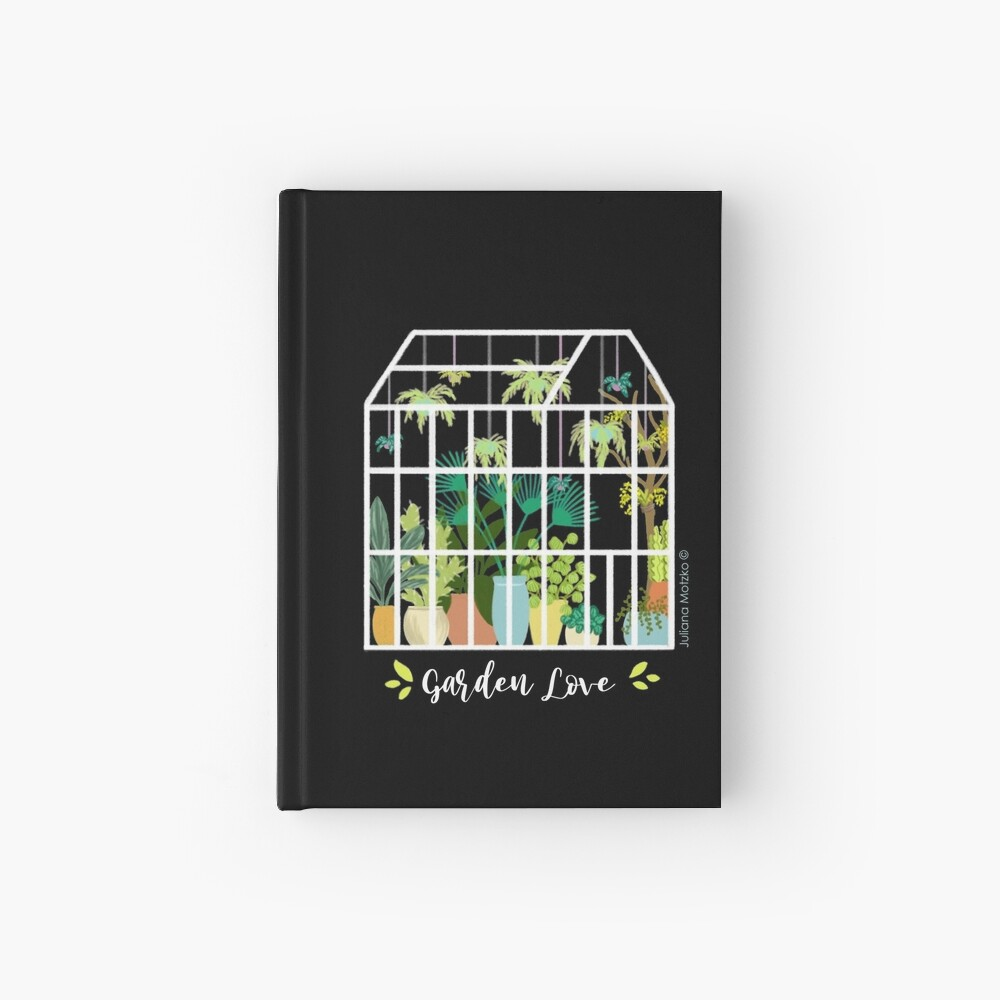 Garden Love - Version 1 Hardcover Journal