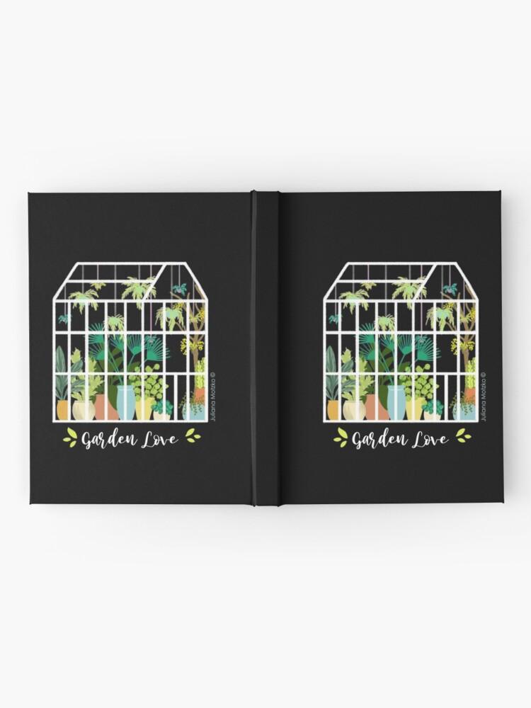 Alternate view of Garden Love - Version 1 Hardcover Journal