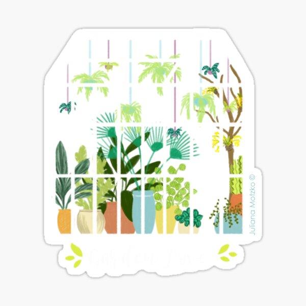 Garden Love - Version 1 Sticker