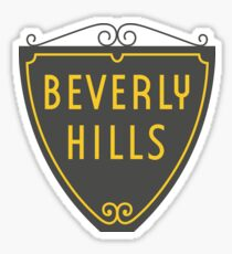 Beverly Hills Sign Los Angeles California Sticker