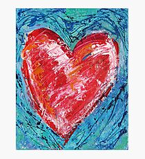 Passionate Heart Photographic Print
