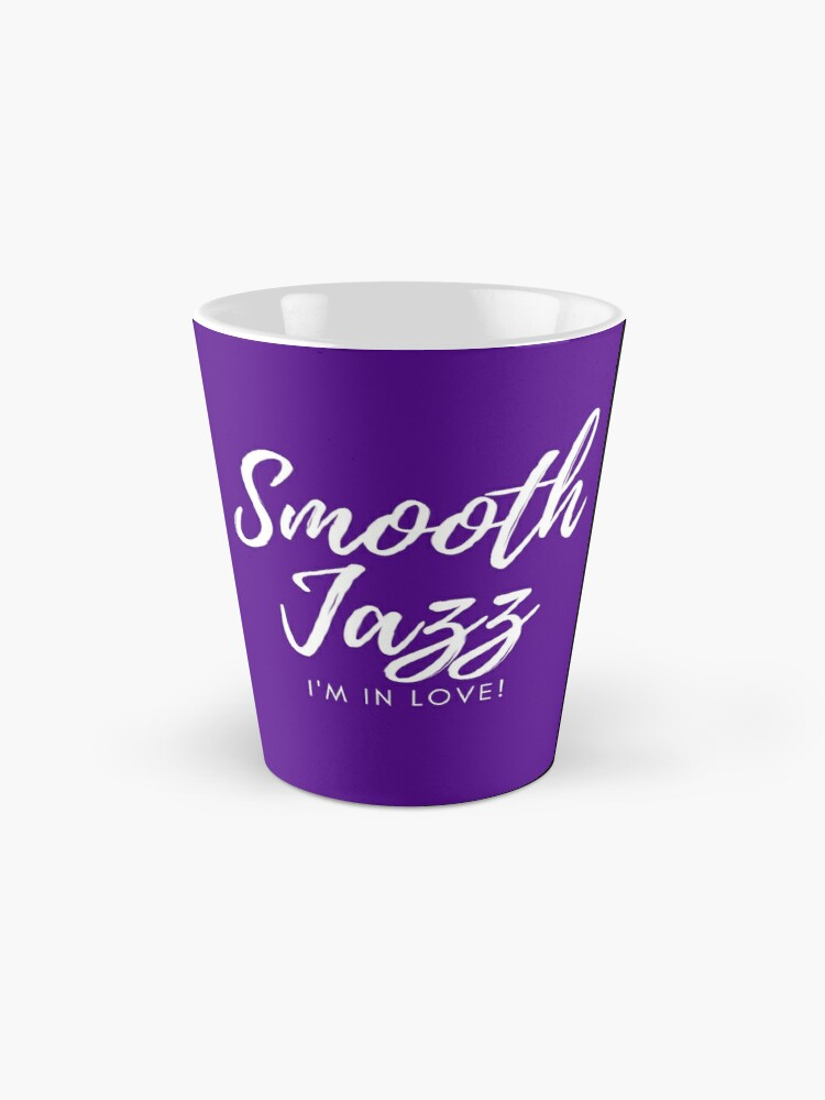 Alternate view of TheCoffeeCupLife: Smooth Jazz I'm in Love (Purple and More) Mug