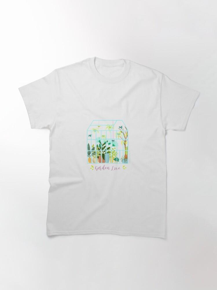 Alternate view of Garden Love - Version 2 Classic T-Shirt