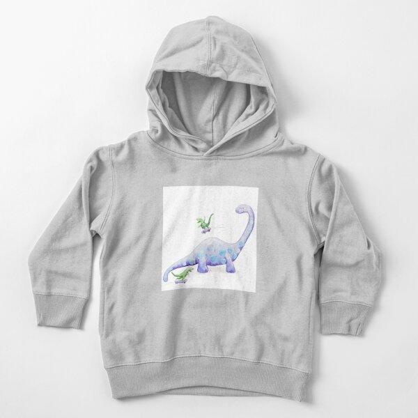Dinosaur Skating Toddler Pullover Hoodie