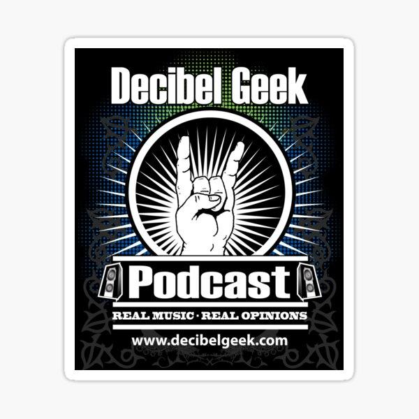 Decibel Geek Sticker Sticker
