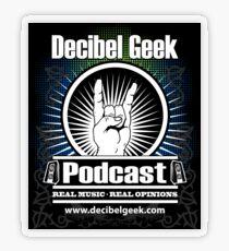 Decibel Geek Sticker Transparent Sticker