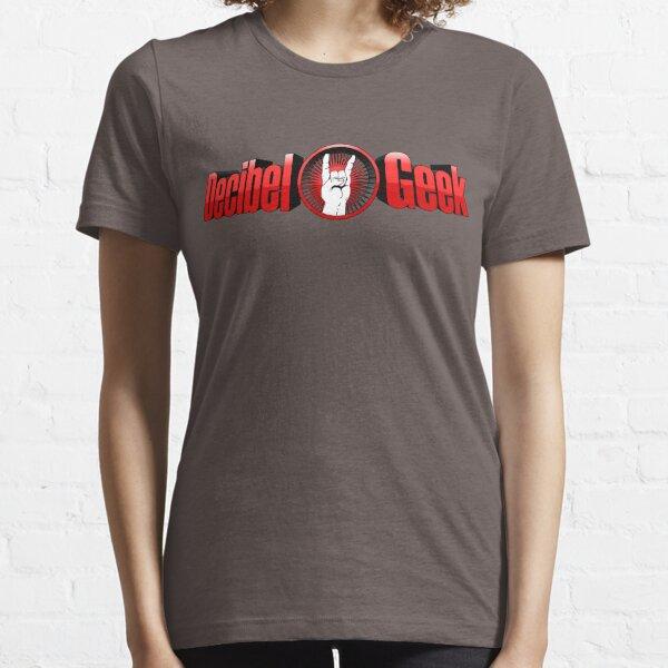 Decibel Geek 3D Logo Essential T-Shirt