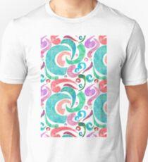 Party Confetti Ribbon Watercolor Design T-Shirt