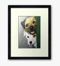 Max & Paddy  Framed Print