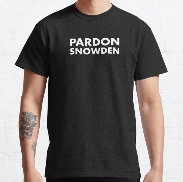 Pardon Snowden - Edward Snowden Classic T-Shirt