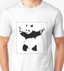 Banksy Panda Unisex T-Shirt