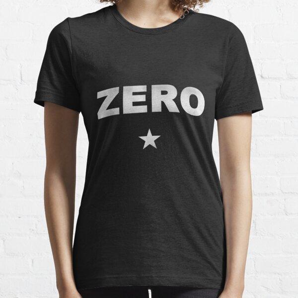 Zéro Rock T-shirt essentiel