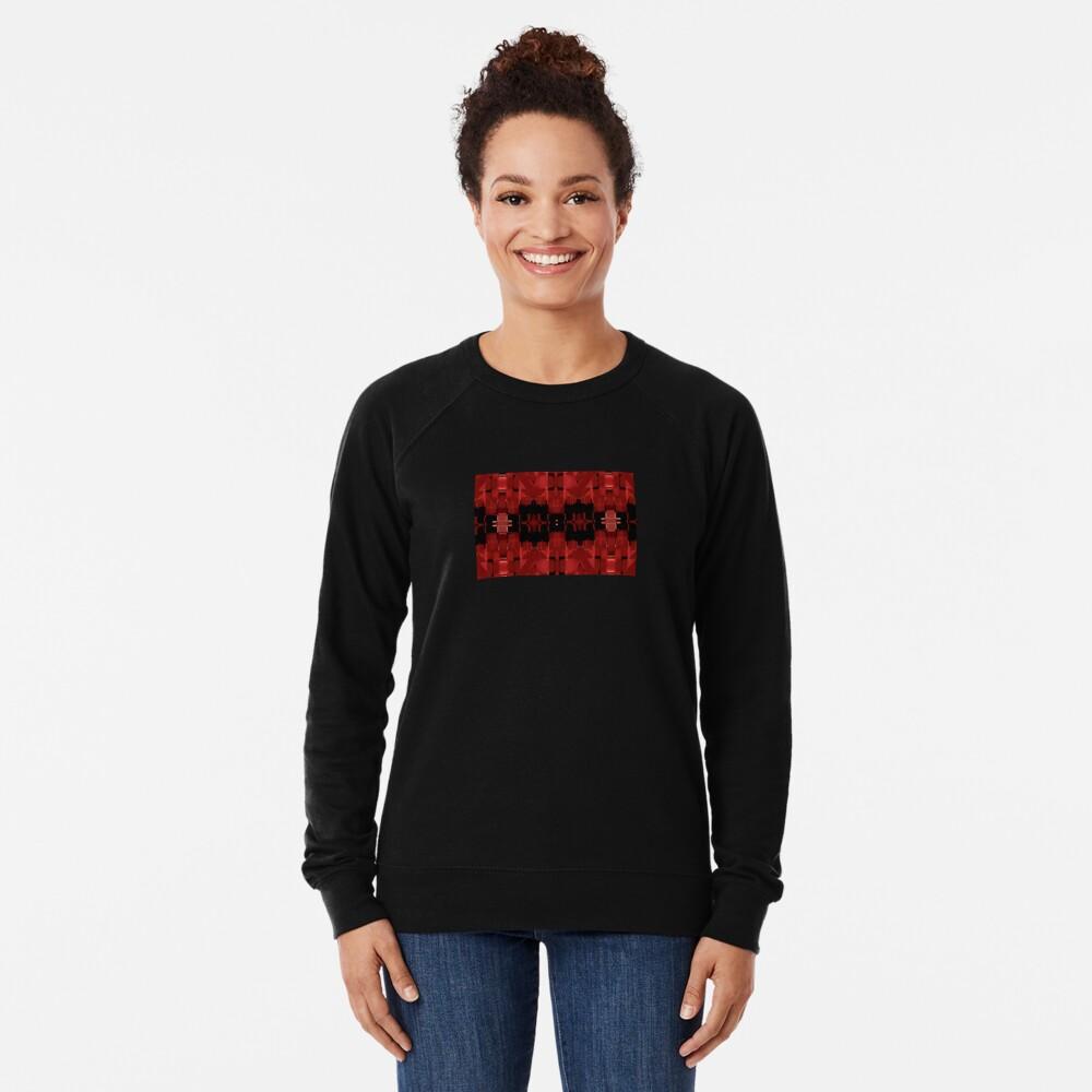 Liquid Light - Red Ribbons Lightweight Sweatshirt