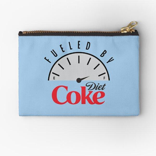 Fueled by Diet Coke Zipper Pouch