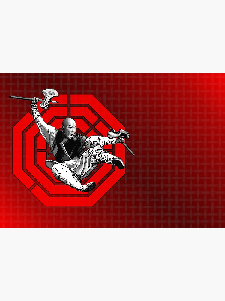 Red Bagua Monk by PLUGOarts