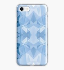 Blue Polygon iPhone Case/Skin