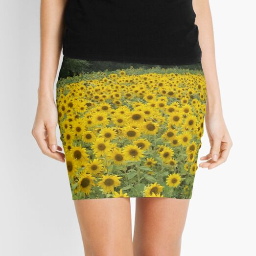 Field of Dandelions Mini Skirt