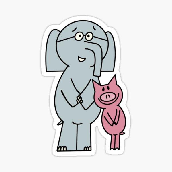 Elephant and Piggie Buddies Sticker