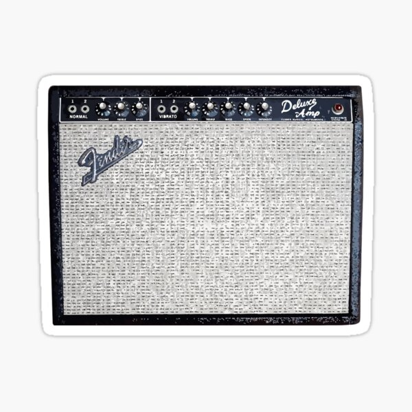 Fender Deluxe Reverb Sticker