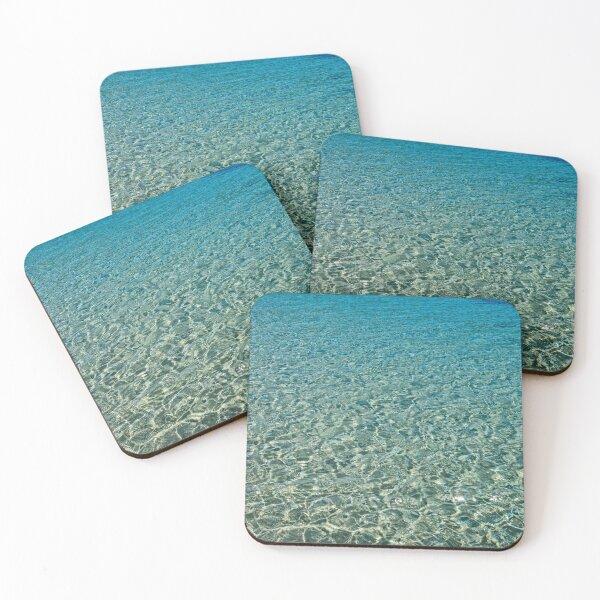 Sea of Blue Coasters (Set of 4)
