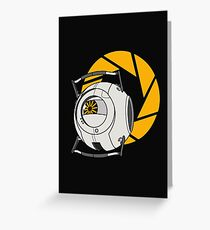 Space Core V2 (Portal 2) Greeting Card