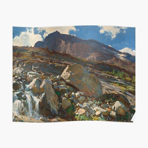 John Singer Sargent. Simplon Pass, 1911. Poster