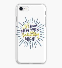 Saturday Night Live iPhone Case/Skin