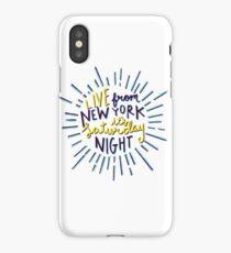 Saturday Night Live iPhone Case/Skin