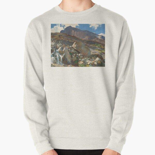 John Singer Sargent. Simplon Pass, 1911. Pullover Sweatshirt