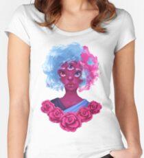 Steven Universe Garnet Women's Fitted Scoop T-Shirt