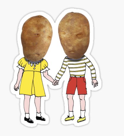 small potatoes Sticker