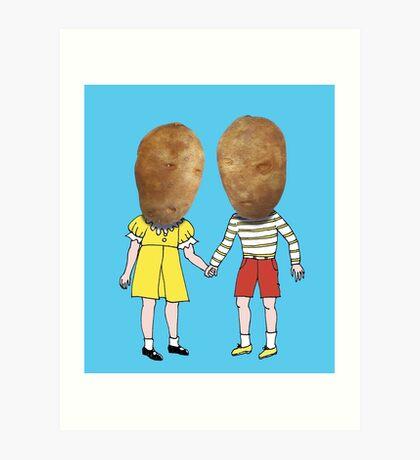 small potatoes Art Print