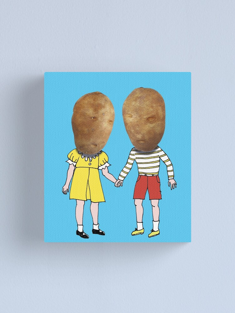 Alternate view of small potatoes Canvas Print