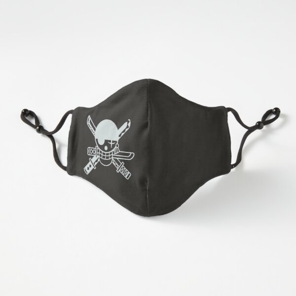 Zoro Jolly Roger White Fitted 3-Layer