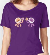 Erdnussbutter-Quallen-Liebe Baggyfit T-Shirt