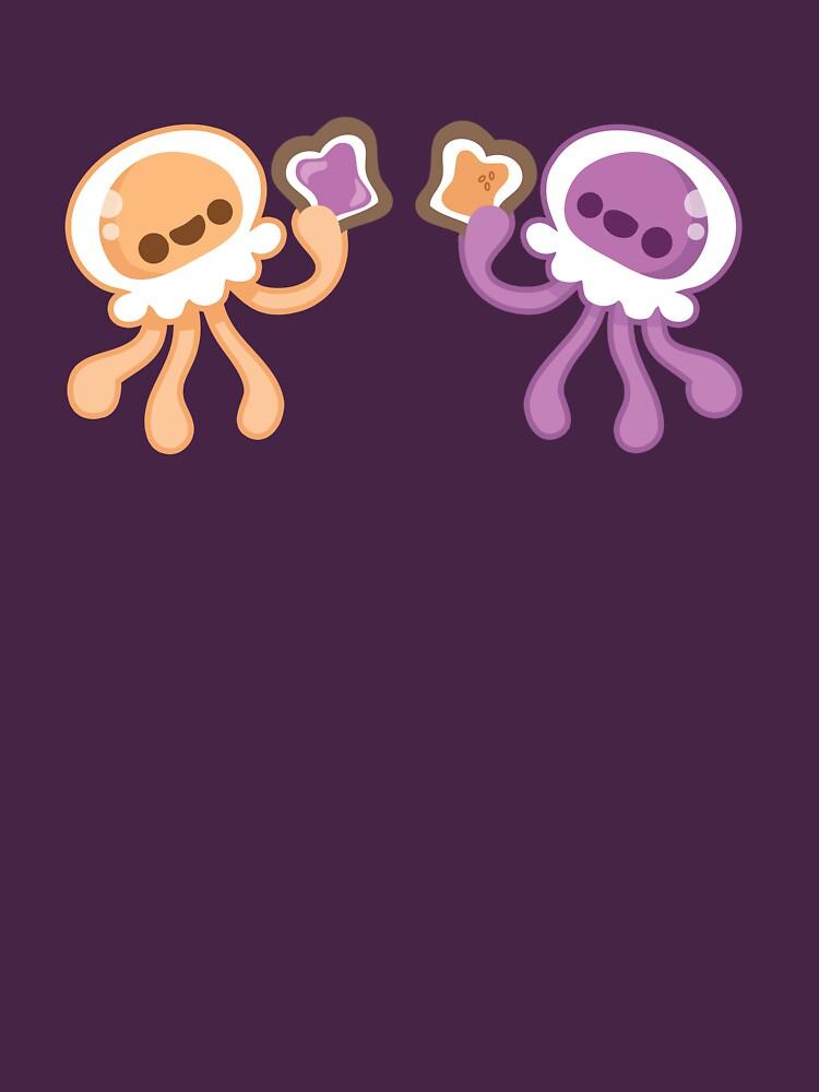 Peanut Butter Jellyfish Love by murphypop