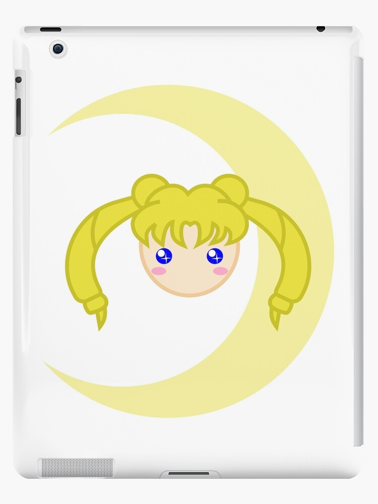'Sailor Moon Usagi Tsukino Chibi Head' iPad Case/Skin by robinchan33