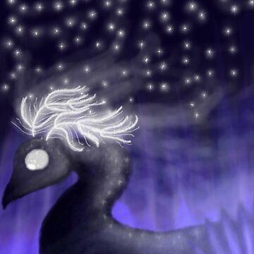 Starry Skies - Starry Eyes by BashsArt