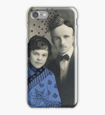 Wedding with Pollen iPhone Case/Skin