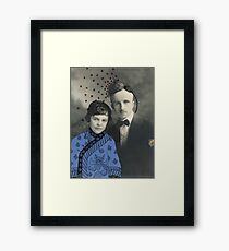 Wedding with Pollen Framed Print