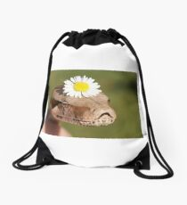 Flower Power Drawstring Bag