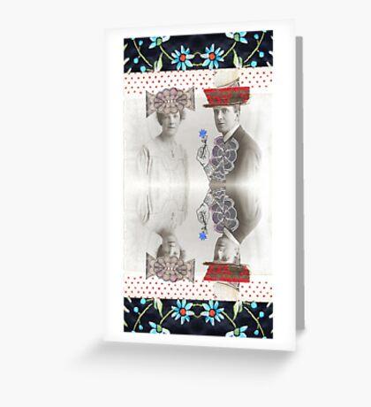 Kublai Khan and Chabui Greeting Card