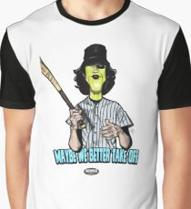 Baseball Fury Graphic T-Shirt