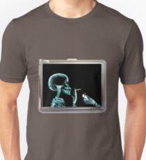 skull smoke Unisex T-Shirt