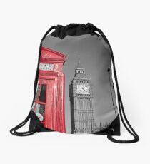 London Calling Drawstring Bag
