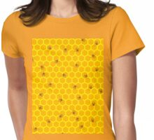 Mind Your Own Beeswax Womens Fitted T-Shirt