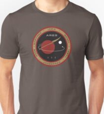 Ares III Mission patch - The Martian Unisex T-Shirt