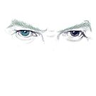 Bowie's eyes by Juana Luján