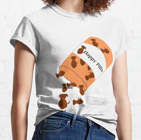 Doggy happy pills Classic T-Shirt