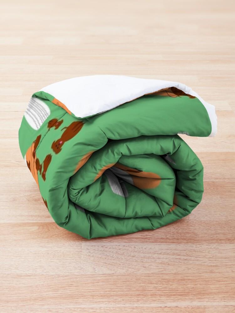 Alternate view of Doggy happy pills Comforter